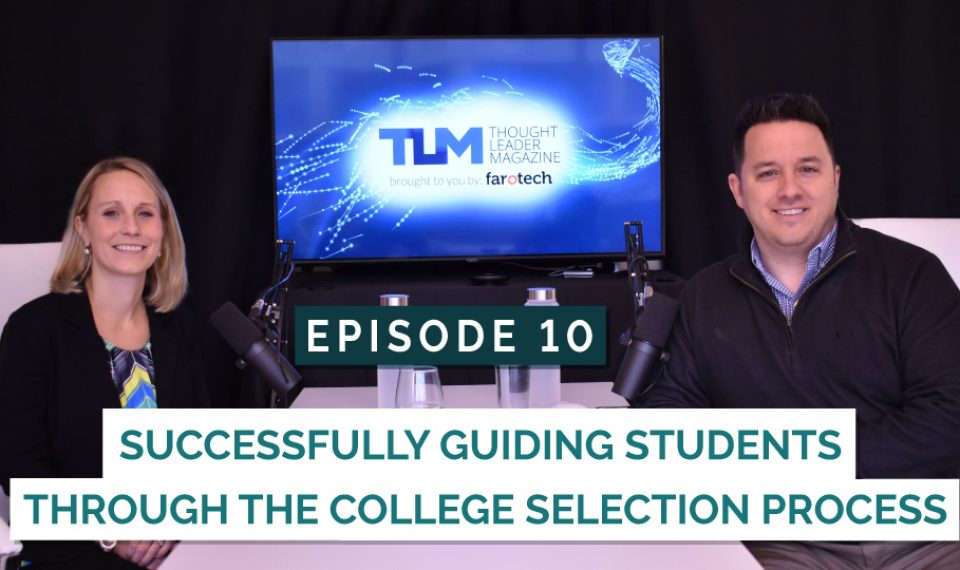 Successfully guiding students through the college-selection process