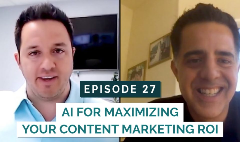 AI for Maximizing Your Content Marketing ROI